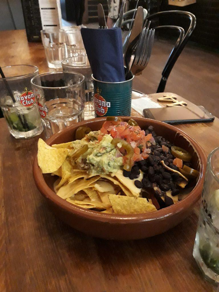 Nachos végétariens à partager au Vice Coffee Inc à Dublin
