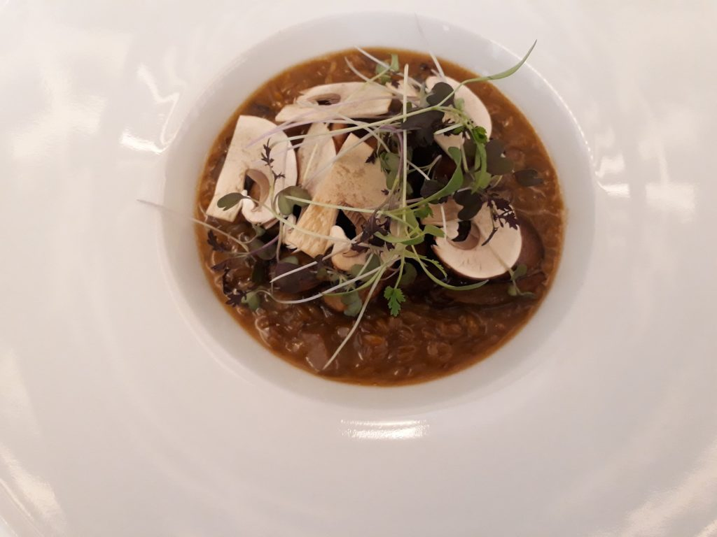 risotto végétarien Pertinence Paris