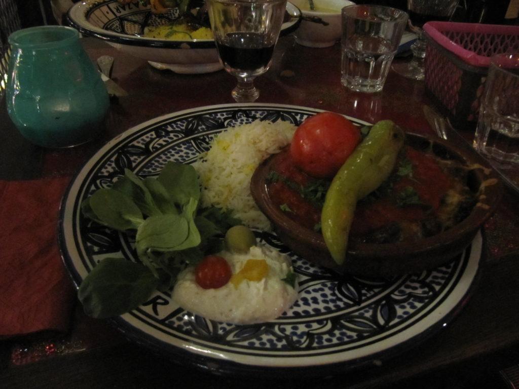 plat végétarien Bazar Rotterdam