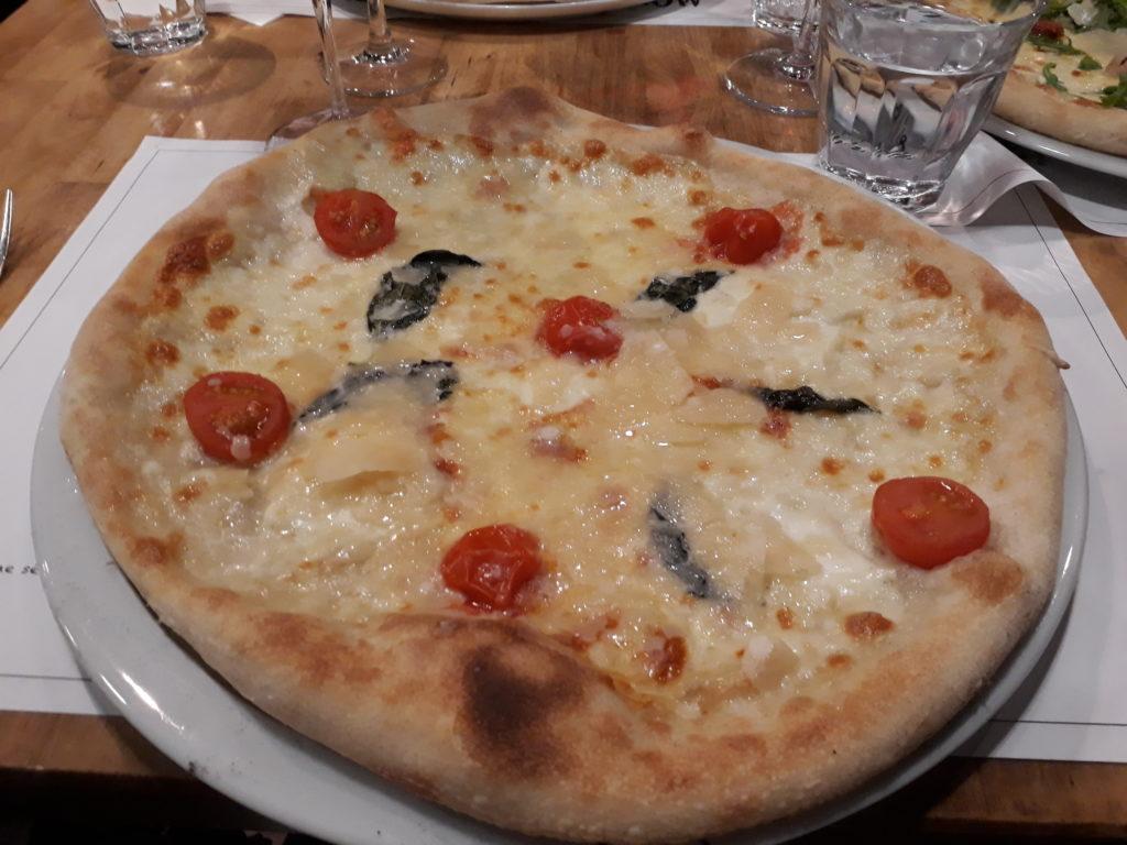 pizza végétarienne La Bottega