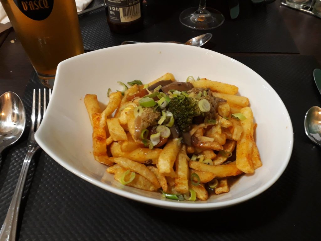 poutine vegan Annie's Kitchen Lille
