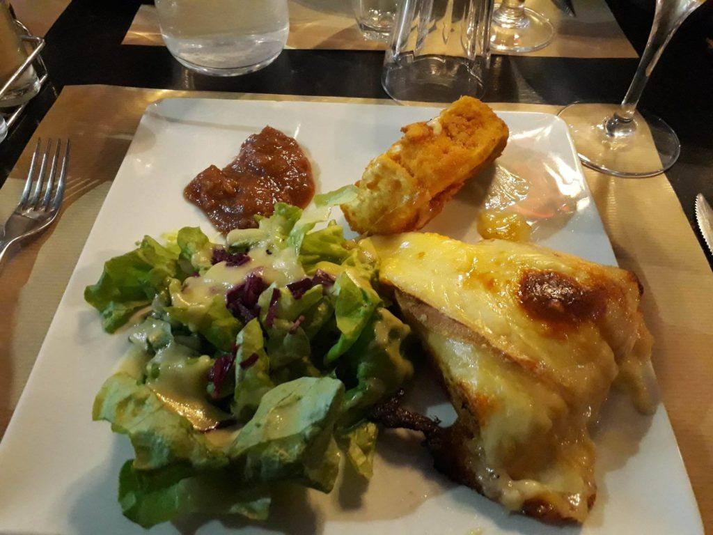 assiette végétarienne Ch'ti à L'Gaïette