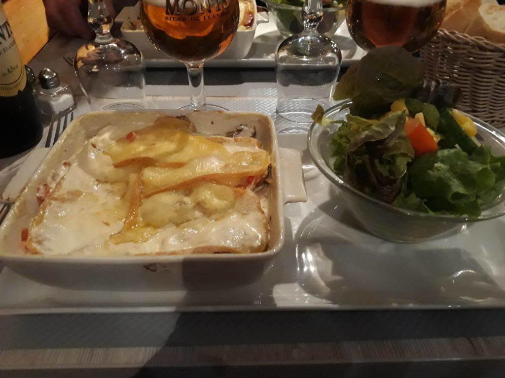 gratin de crozets Le Dahu Lille