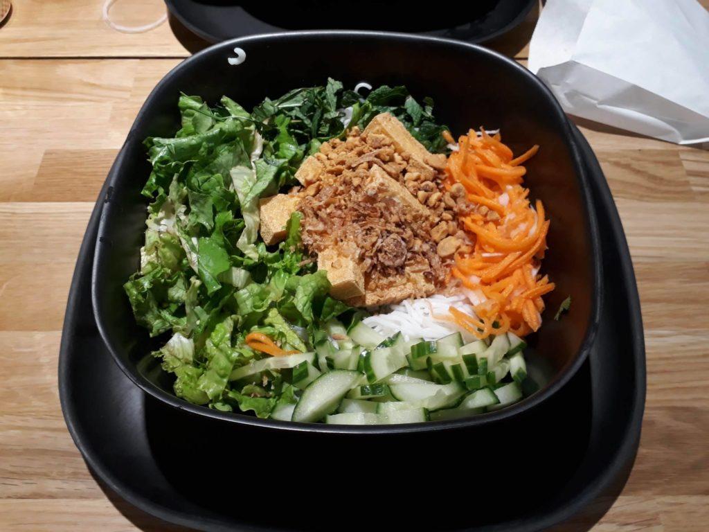 salade bun Woko Lille