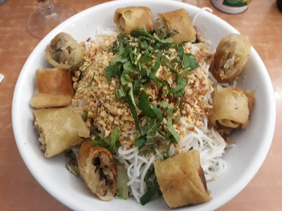 Bo bun vegetarien colline d'asie paris