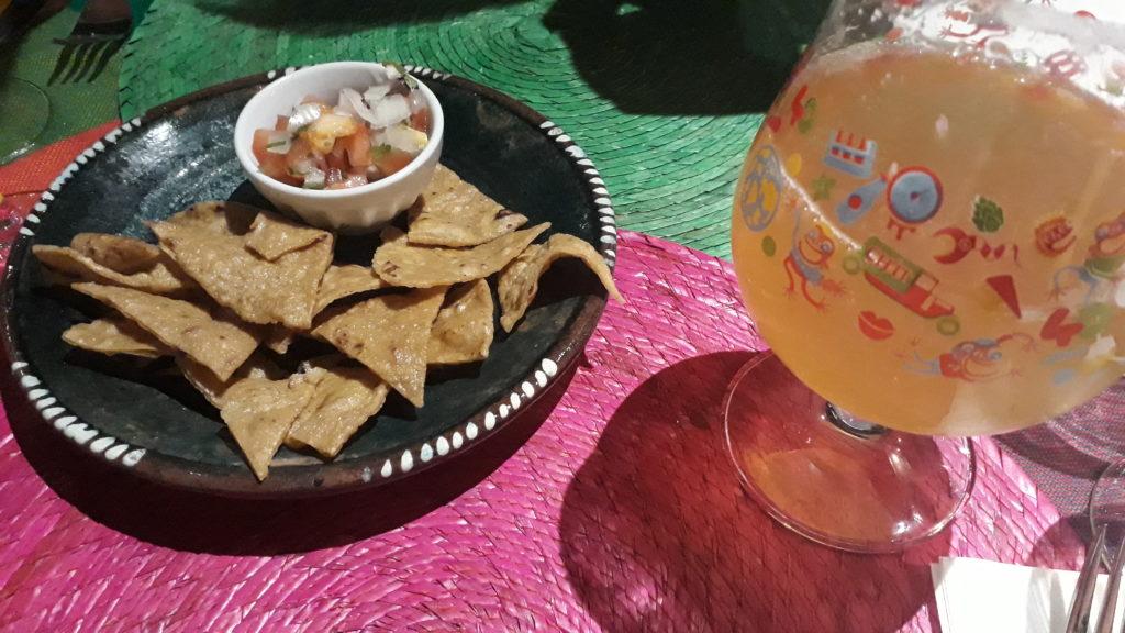 nachos et guacamole los 3 compadres lille