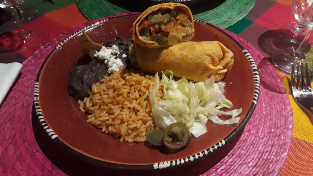 burrito végétarien los 3 compadres lille