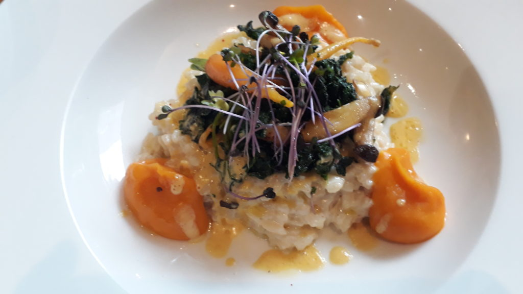 risotto végétarien Bistrot Iodé